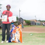 Lindelani Kwinda - First prize winner for weight pulling and and high jump