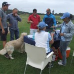 Indwe Risk Services provided snacks and drinks for the golfers and Douga (he had the biltong!)